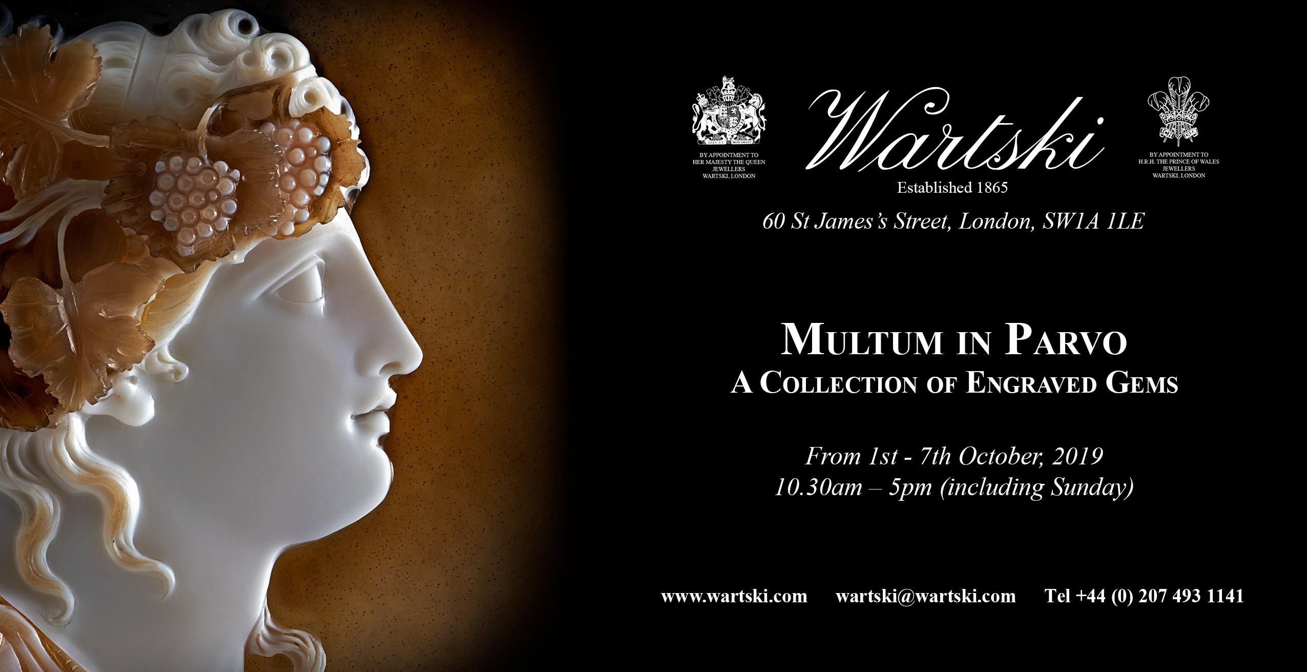 Wartski exhibition flyer for website
